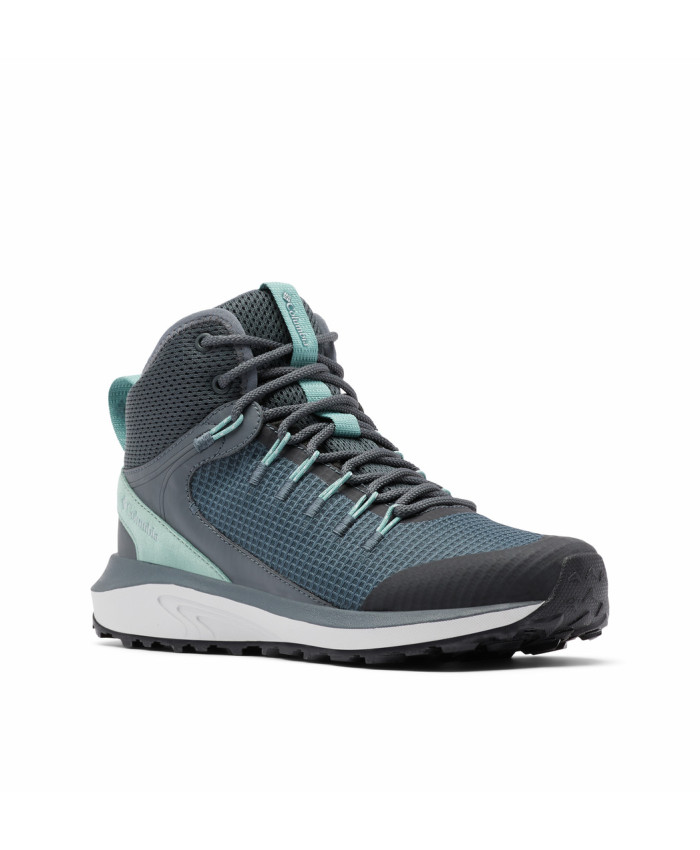 Moteriški neperšlampami batai Columbia: TRAILSTORM MID WATERPROOF -Graphite, Dusty Green