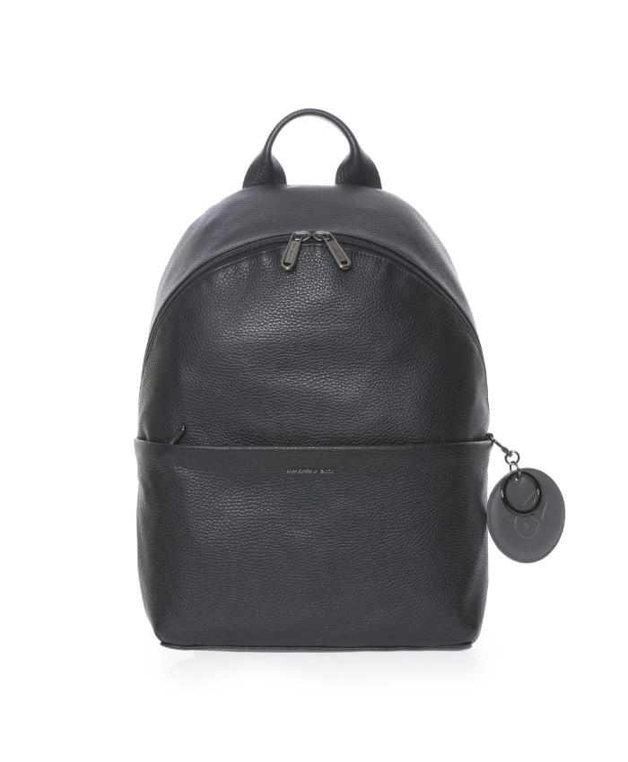 Kuprinė Mandarina Duck: MELLOW LEATHER BACKPACK / NERO