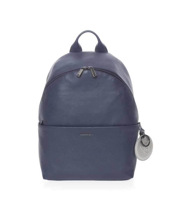 Kuprinė Mandarina Duck: MELLOW LEATHER BACKPACK / DRESS BLUE