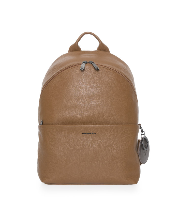 Kuprinė Mandarina Duck: MELLOW LEATHER BACKPACK / INDIAN TAN