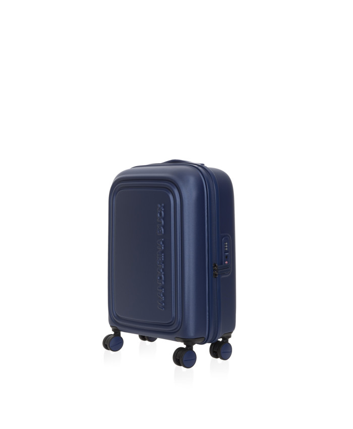 Lagaminas Mandarina Duck: LOGODUCK + TROLLEY CABIN / ESTATE BLUE