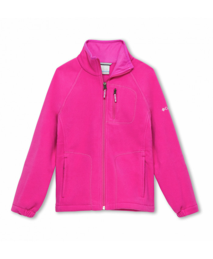 Vaikiškas džemperis Columbia: YBs Fast Trek Full Zip-Pink Ice