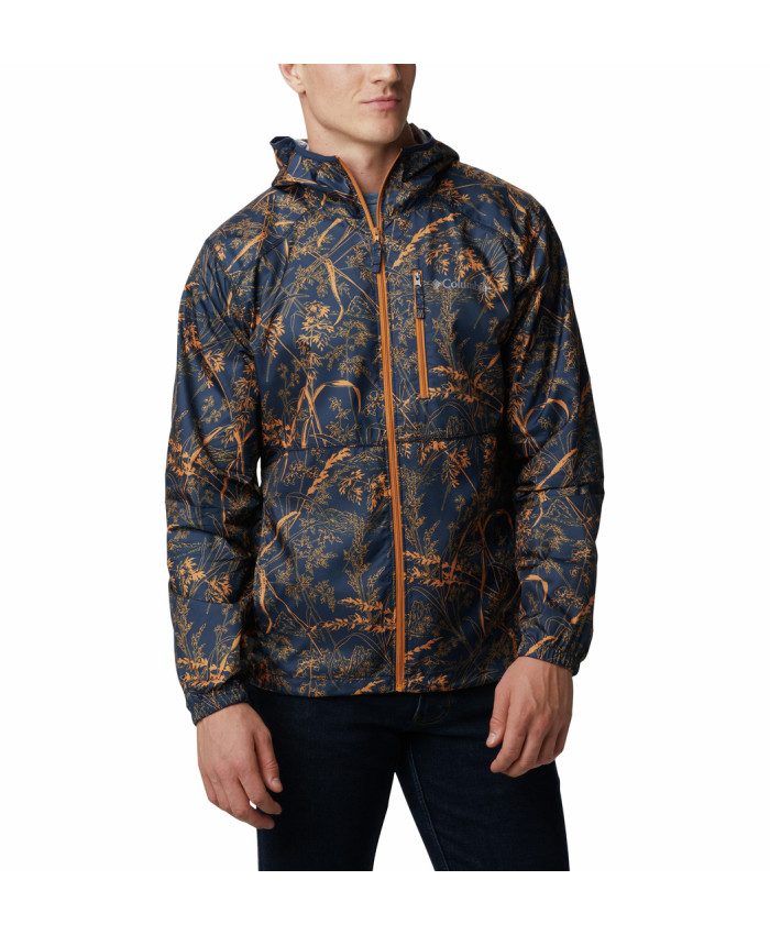 Vyriška striukė Columbia: Flash Forward Windbreaker Print -Collegiate Navy Oregon Wonders
