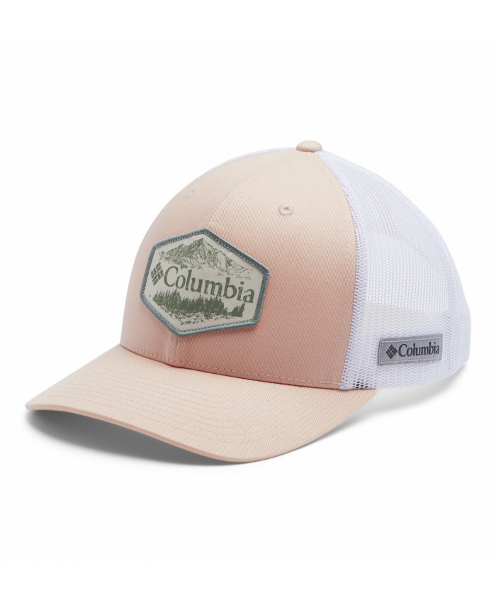 Kepurė Columbia: Columbia Mesh Snap Back -Peach Cloud, Ou