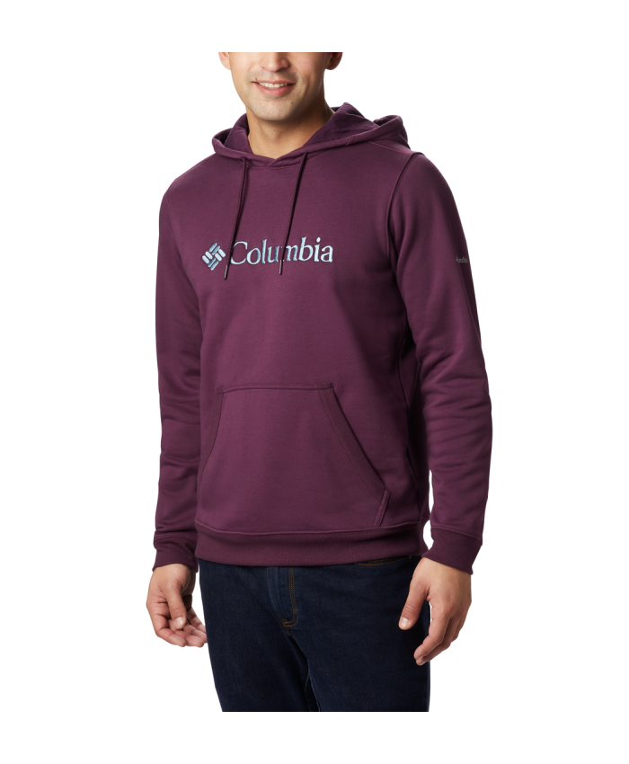 Vyriškas džemperis Columbia: CSC Basic Logo Hoodie-Black Cherry