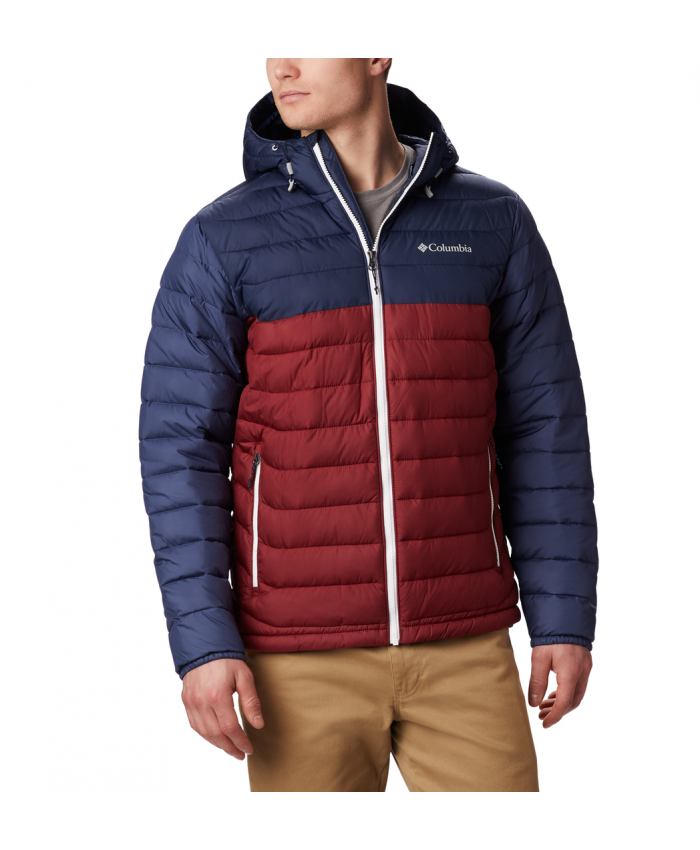 Vyriška striukė Columbia: Powder Lite Hooded Jkt-Red Jasper, Col
