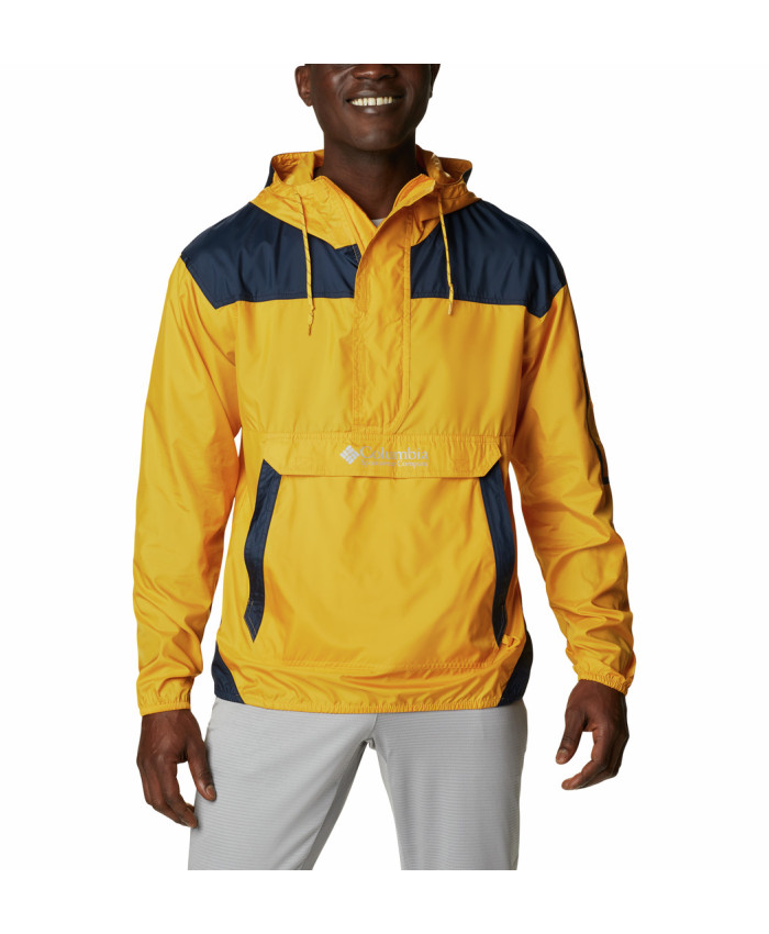 Vyriška striukė Columbia: Challenger Windbreaker -Bright Gold, Collegiate Navy