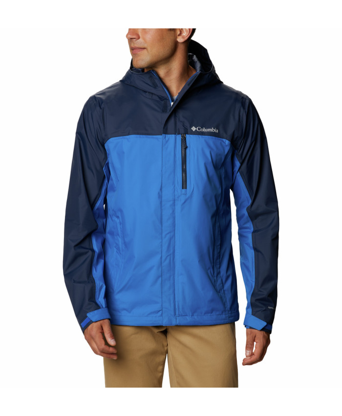 Vyriška neperšlampama striukė Columbia: Pouring Adventure II Jacket -Bright Indigo, Collegiate Navy