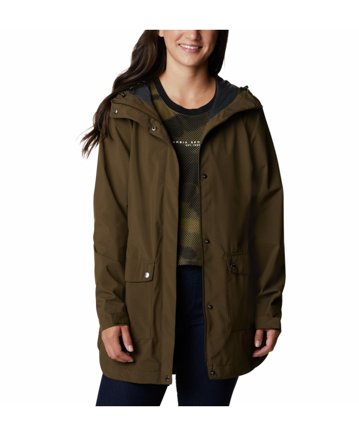 Moteriška striukė Columbia: Here And There Trench Jacket -Olive Green
