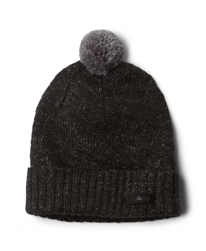 Kepurė Columbia: Mighty Lite Beanie-Black Heather