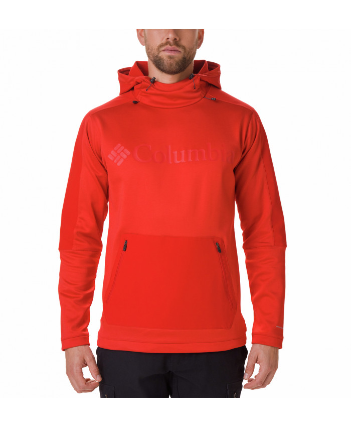 Vyriškas džemperis Columbia: Maxtrail Midlayer Top-Mountain Red