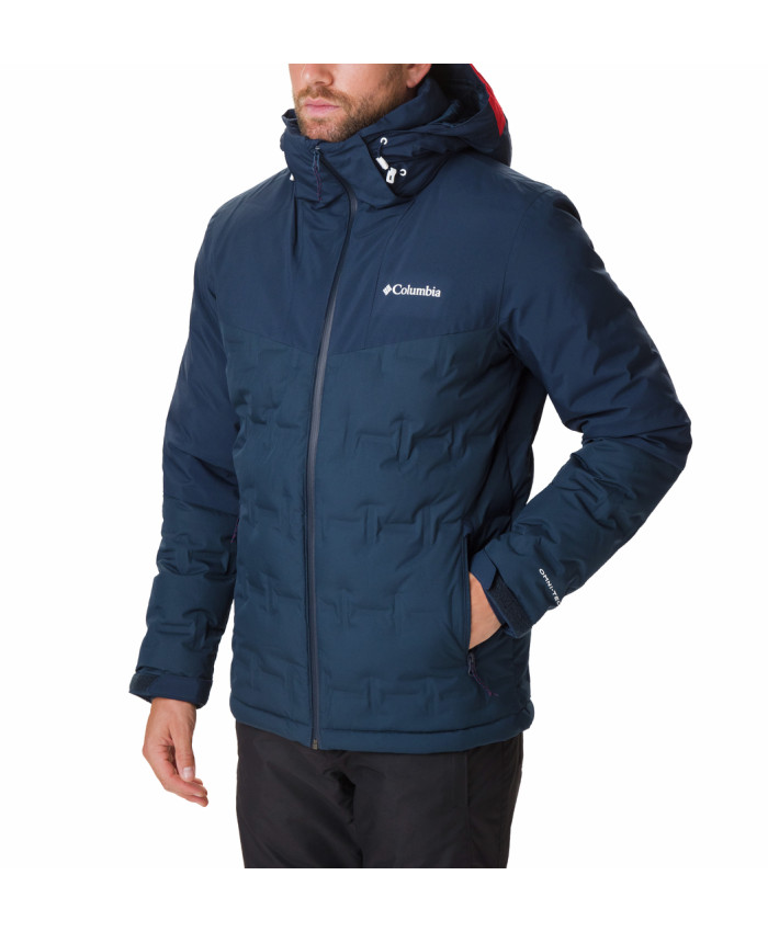 Vyriška striukė Columbia: Wild Card Down Jacket-Collegiate Navy
