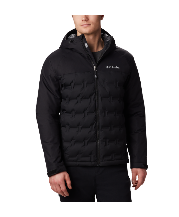 Vyriška striukė Columbia: M Grand Trek Down Jacket-Black