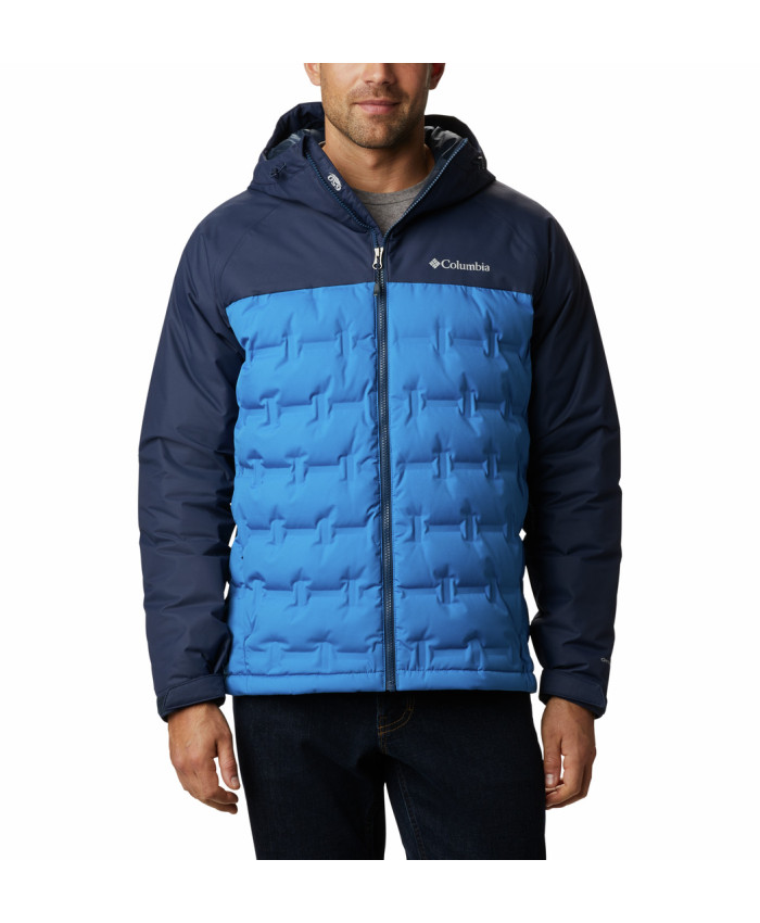 Vyriška striukė Columbia: M Grand Trek Down Jacket-Bright Indigo