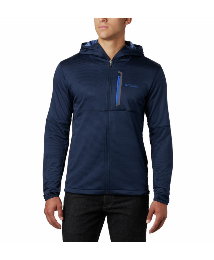 Vyriškas džemperis Columbia: Tech Trail FZ Hoodie-Collegiate Navy