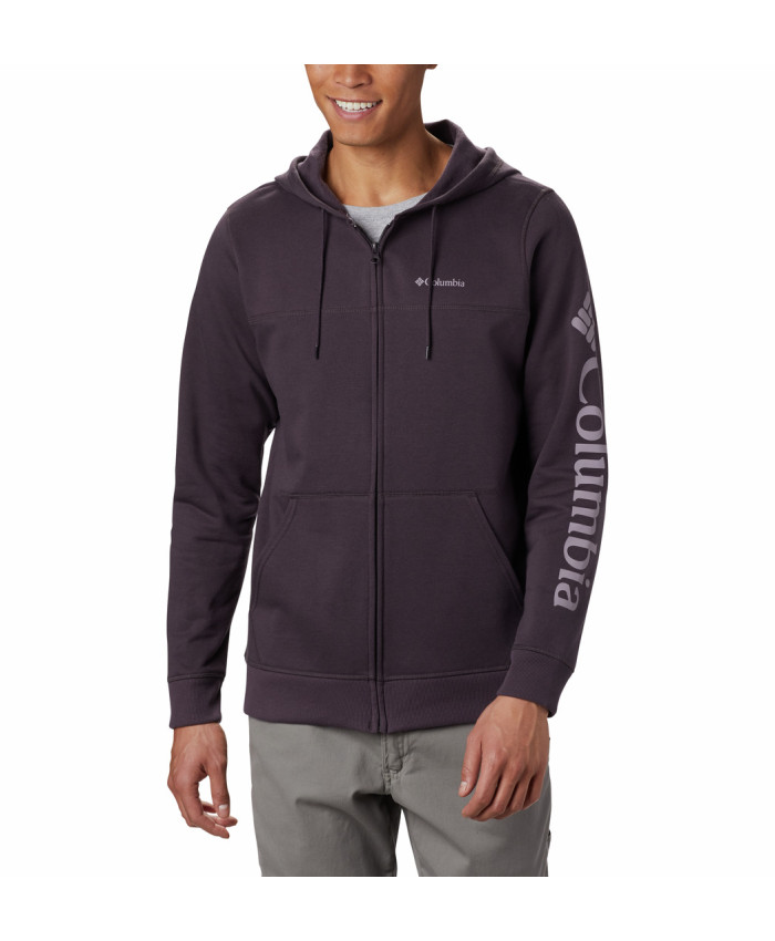 Vyriškas džemperis Columbia: M Columbia Logo Fleece F-Dark Purple, Sh