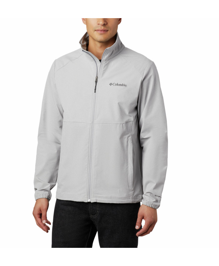 Vyriška softshell striukė Columbia: Heather Canyon Non Hooded Jacket -Columbia Grey Heather