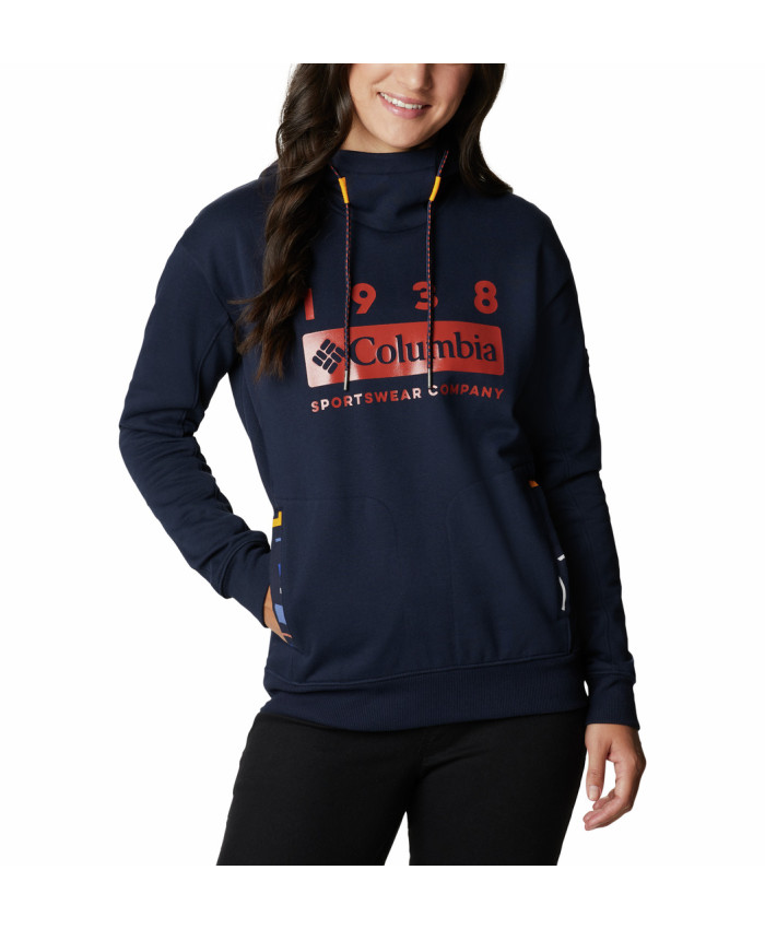 Moteriškas džemperis Columbia: Columbia Lodge Hoodie-Dark Nocturnal