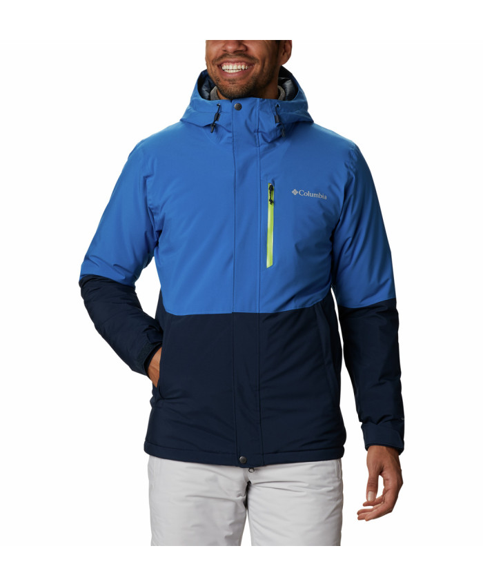 Vyriška striukė Columbia: Winter District Jacket-Collegiate Navy