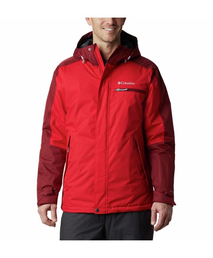 Vyriška striukė Columbia: Valley Point Jacket-Mountain Red, R