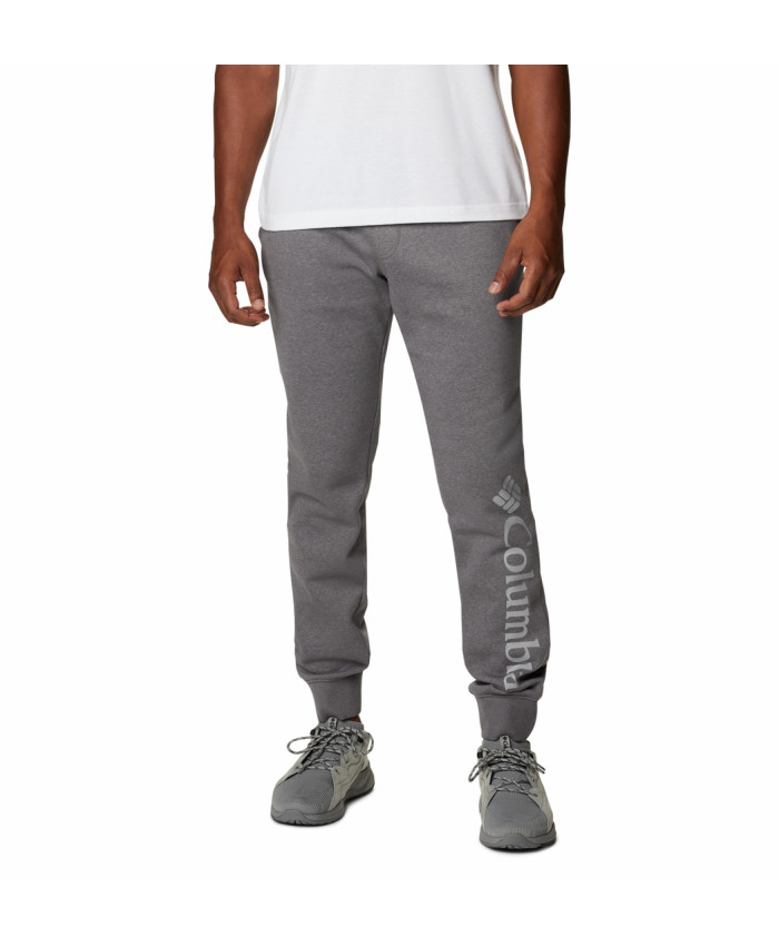 Vyriškos kelnės Columbia: M CSC Logo Fleece Jogger-City Grey Heath