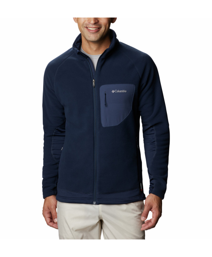 Vyriškas džemperis Columbia: M Polar Powder Full Zip-Collegiate Navy