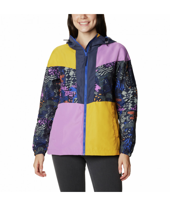 Moteriška striukė Columbia: Wallowa Park Lined Jacket -Nocturnal, Blossom Pink, Bright Gold