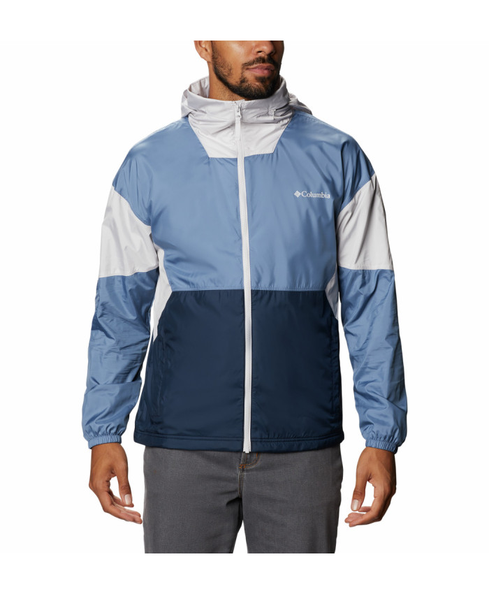 Vyriška striukė Columbia: Point Park Lined Windbreaker -Collegiate Navy, Bluestone, Nimbus Grey