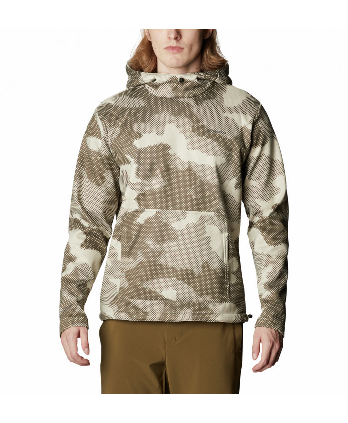 Vyriškas džemperis Columbia: M Out-Shield Dry Fleece Hoodie -Ancient Fossil Spotted Camo