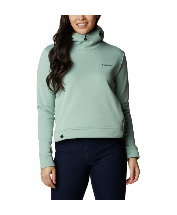 Moteriškas džemperis Columbia: W Out-Shield Dry Fleece Hoodie -Aqua Tone