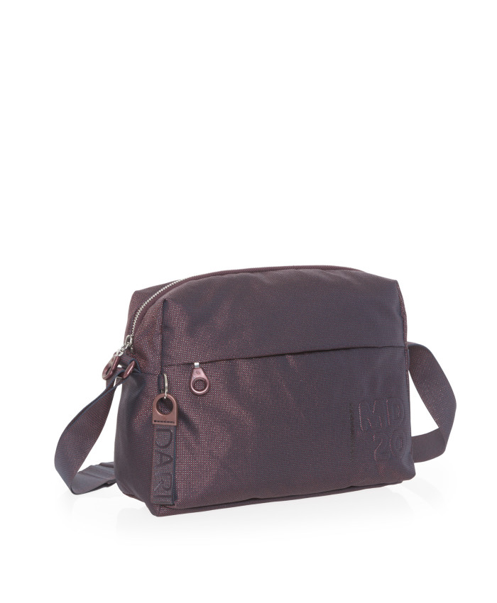 Rankinė Mandarina Duck: MD20 LUX TRACOLLA / BLACKBERRY SYRUP