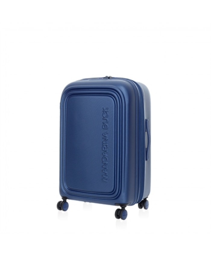 Lagaminas Mandarina Duck: LOGODUCK + TROLLEY MEDIUM EXP / ESTATE BLUE