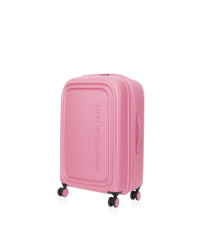 Lagaminas Mandarina Duck: LOGODUCK + TROLLEY MEDIUM EXP / HOT PINK