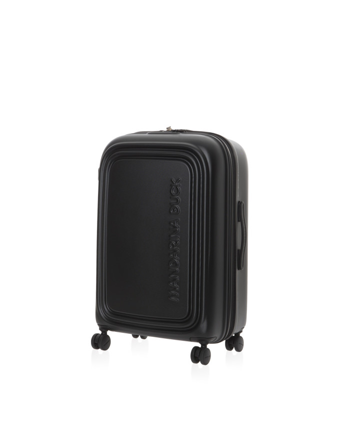 Lagaminas Mandarina Duck: LOGODUCK + TROLLEY MEDIUM EXP / BLACK
