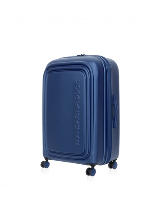 Lagaminas Mandarina Duck: LOGODUCK + TROLLEY LARGE EXP / ESTATE BLUE