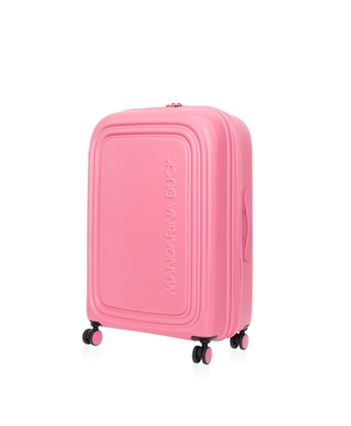 Lagaminas Mandarina Duck: LOGODUCK + TROLLEY LARGE EXP / HOT PINK