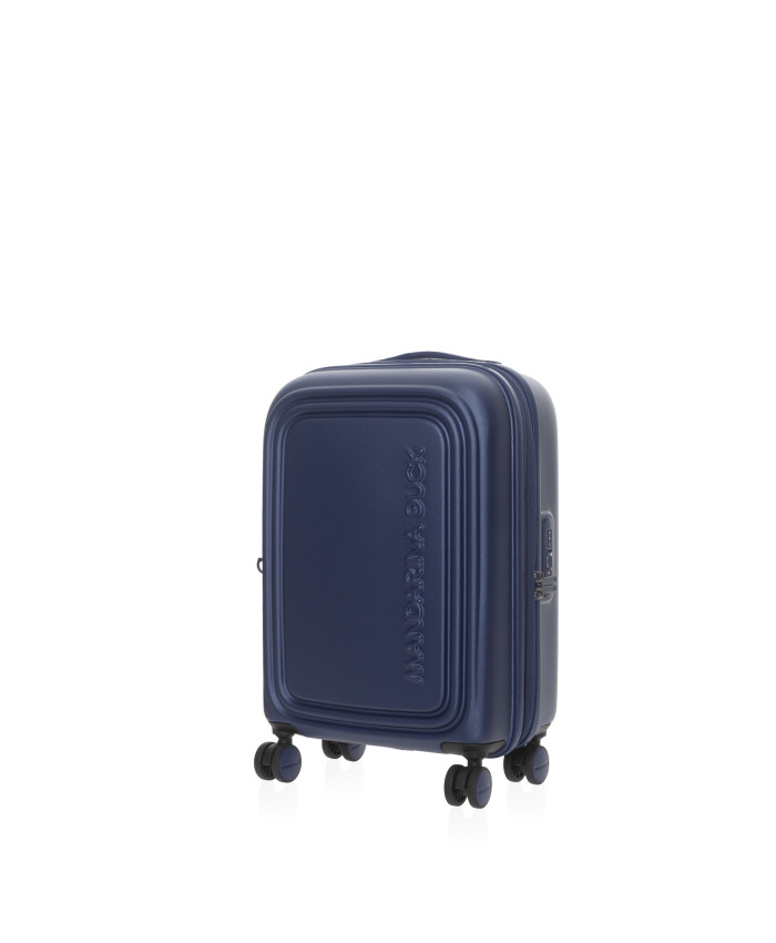 Lagaminas Mandarina Duck: LOGODUCK + TROLLEY CABIN EXP / ESTATE BLUE